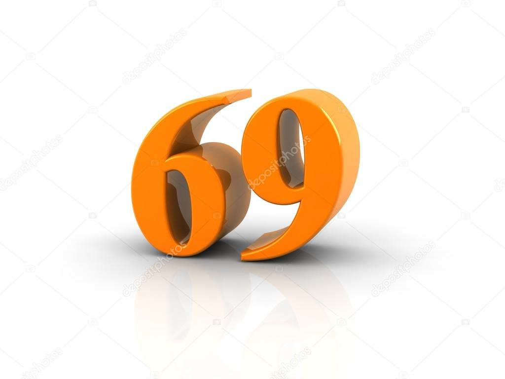 Number 69 Stock Photo Image By C Elenven 63781527