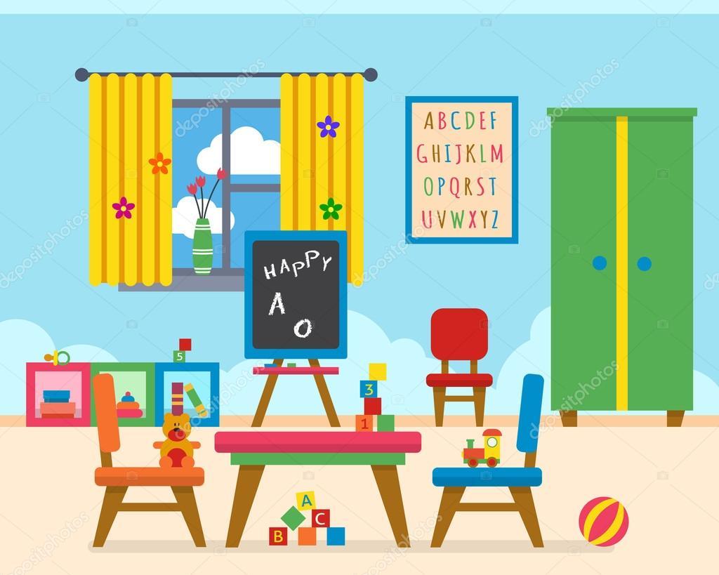 Plano De Un Salon De Clases De Preescolar