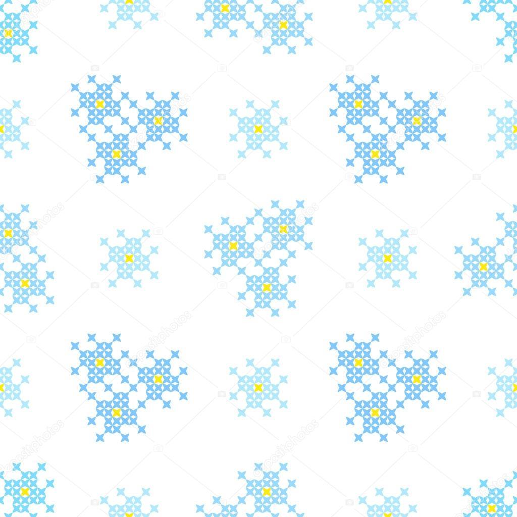 Sin costura bordado textura de patrones abstractos para el paño ...