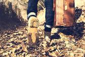 Žena, procházky do přírody