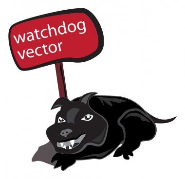 Watch dog sign
