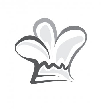 chef hat icon illustration