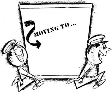 Retro Moving Men