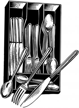 Cutlery And Tray