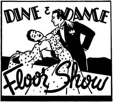 Dine And Dance Floor Show