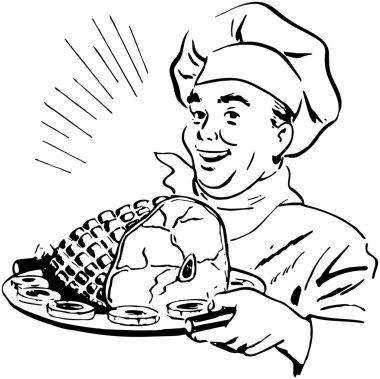 Chef With Ham
