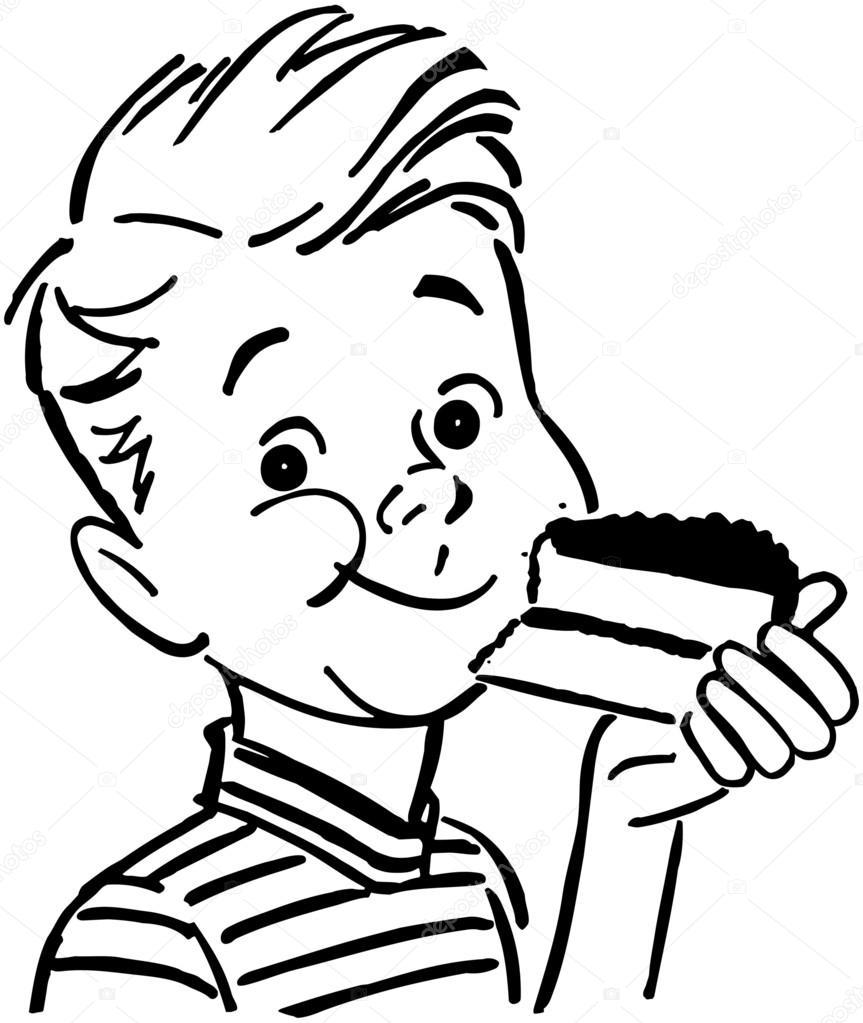 ᐈ Ninos Comiendo Frutas Para Colorear Imagenes De Stock Dibujos