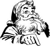 Santa claus polohovací