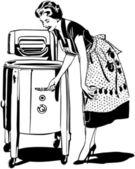 Máma dělá mytí