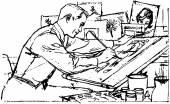 Ilustrátor v práci