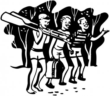 Boys With Oars