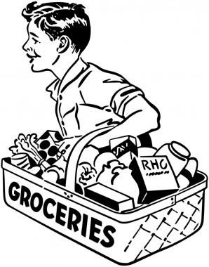 Grocery Delivery Boy