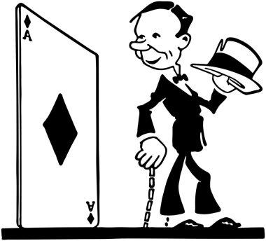 Ace, Retro Ad Art Illustration