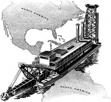 Panama Canal Gate
