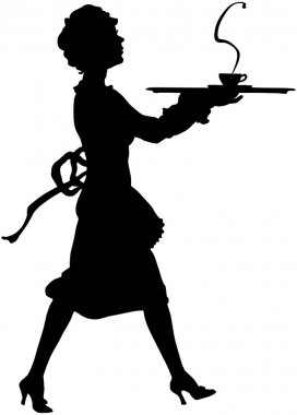 Maid Silhouette