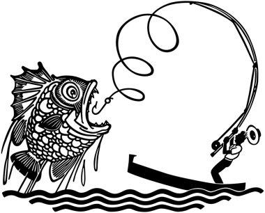 Man Catching Big Fish