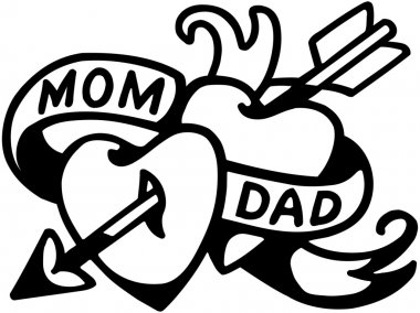 Mom And Dad Tattoo