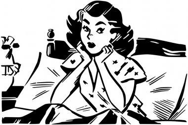 Woman Wondering in bed