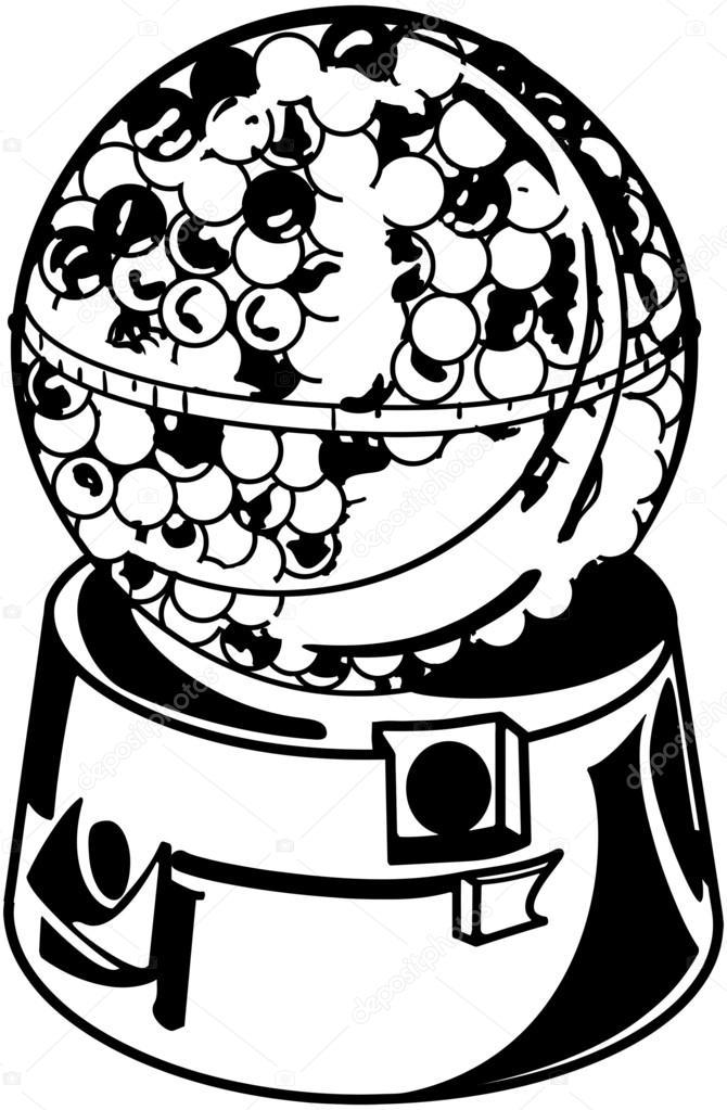 Candy Gumball Machine