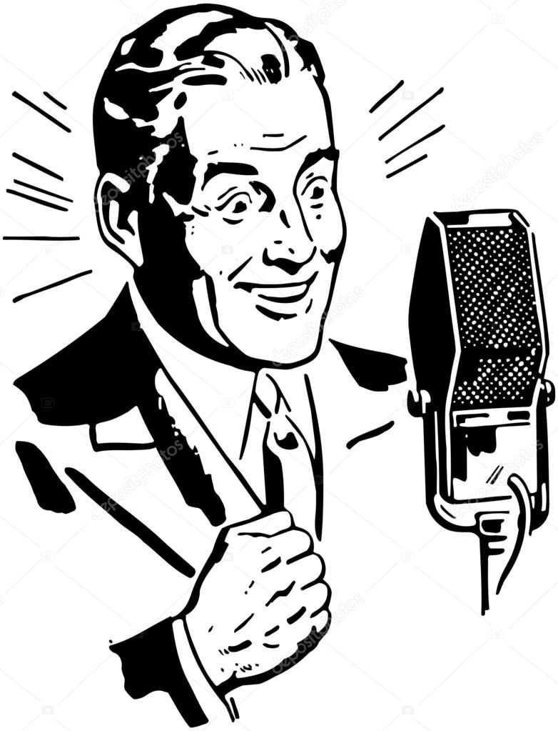 Stock Illustration Radio Announcer also Julie Andrews moreover Radio Interview On Gippsland Fm likewise File National Barn Dance 1940 as well Free radio television pictures. on old fashioned radio