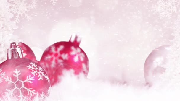 řeč pohybové grafiky. Veselé Vánoce, módní mix barev a cool pohybové grafiky.