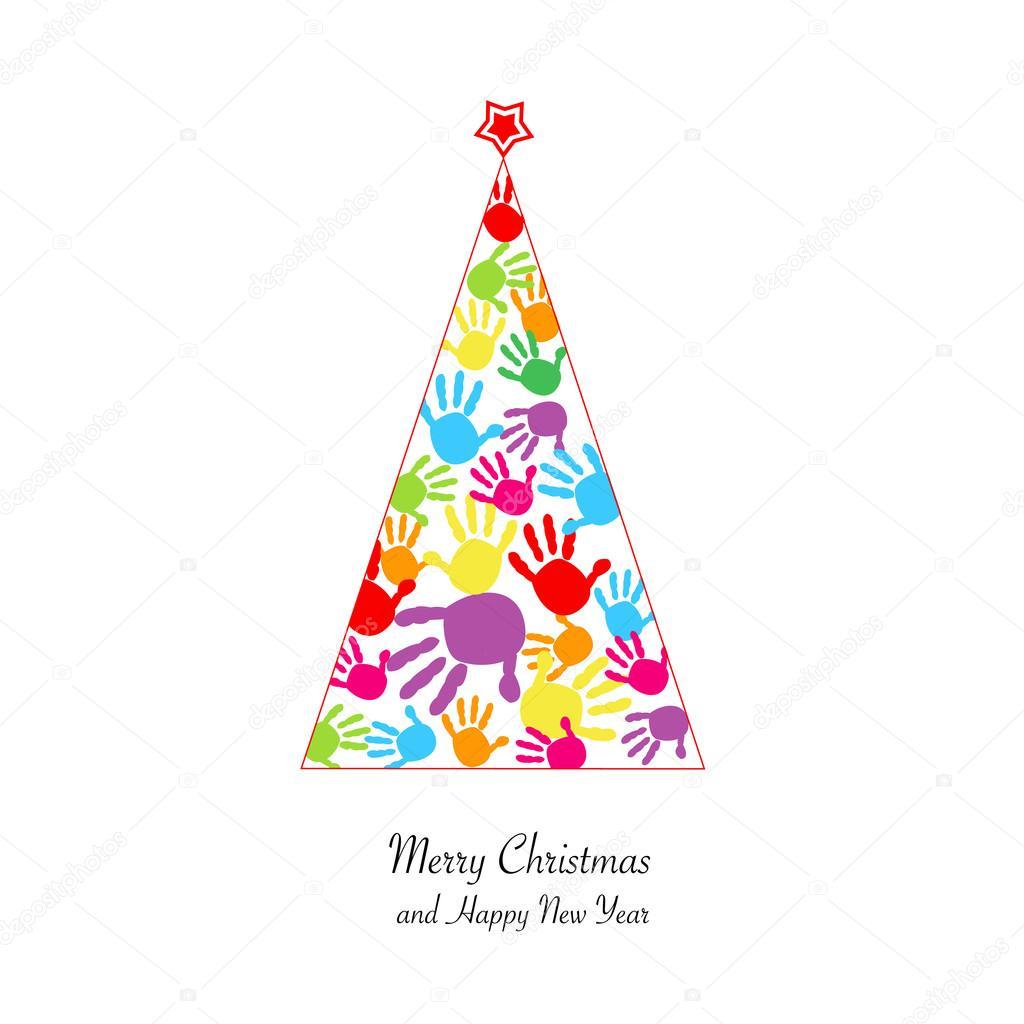 Dibujos Arboles De Navidad A Color Para Imprimir árbol De Navidad
