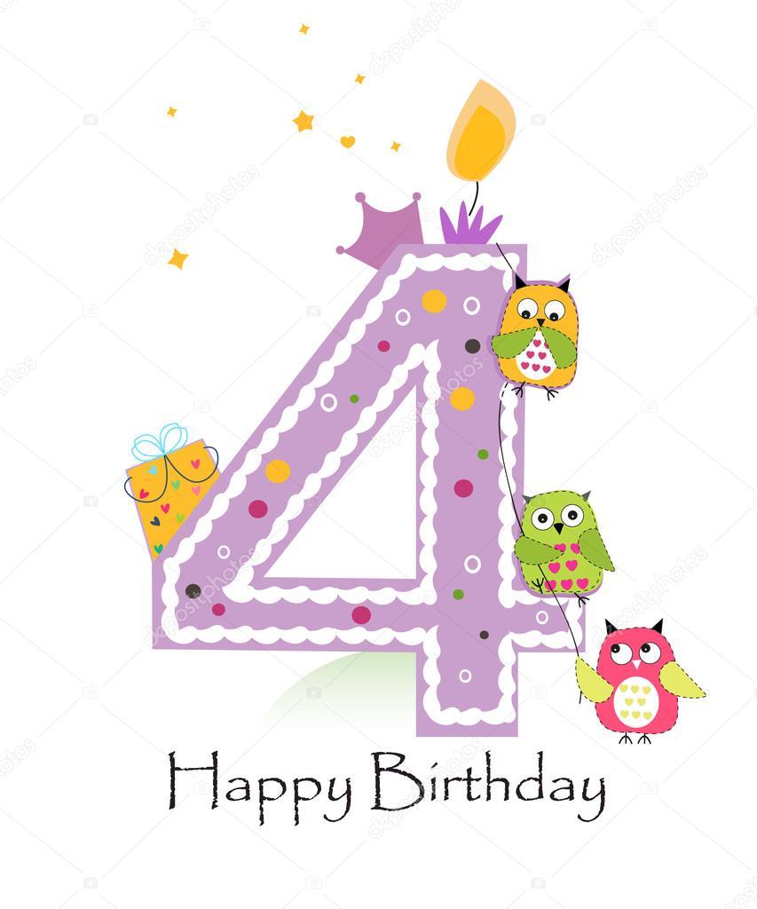 Картинка с днем рождения 4 месяца девочке, открытки юбилеем лет