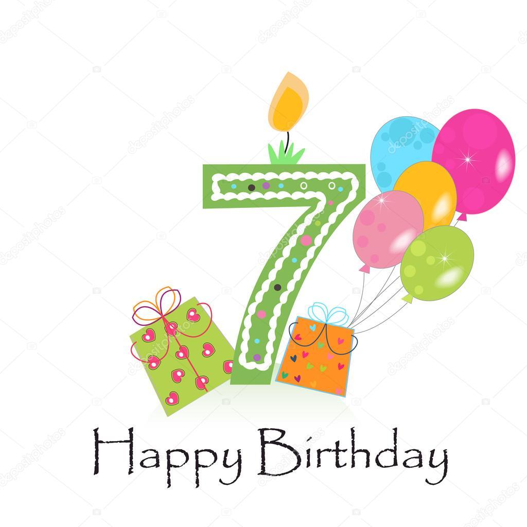 422fb635cf65f Feliz quinto cumpleaños con buhos vector de tarjeta de felicitación del  muchacho del bebé — Vector de gulsengunel