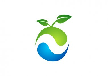 ecology,nature,plant,logo,apple,water,spring,landscape,circle,droplet