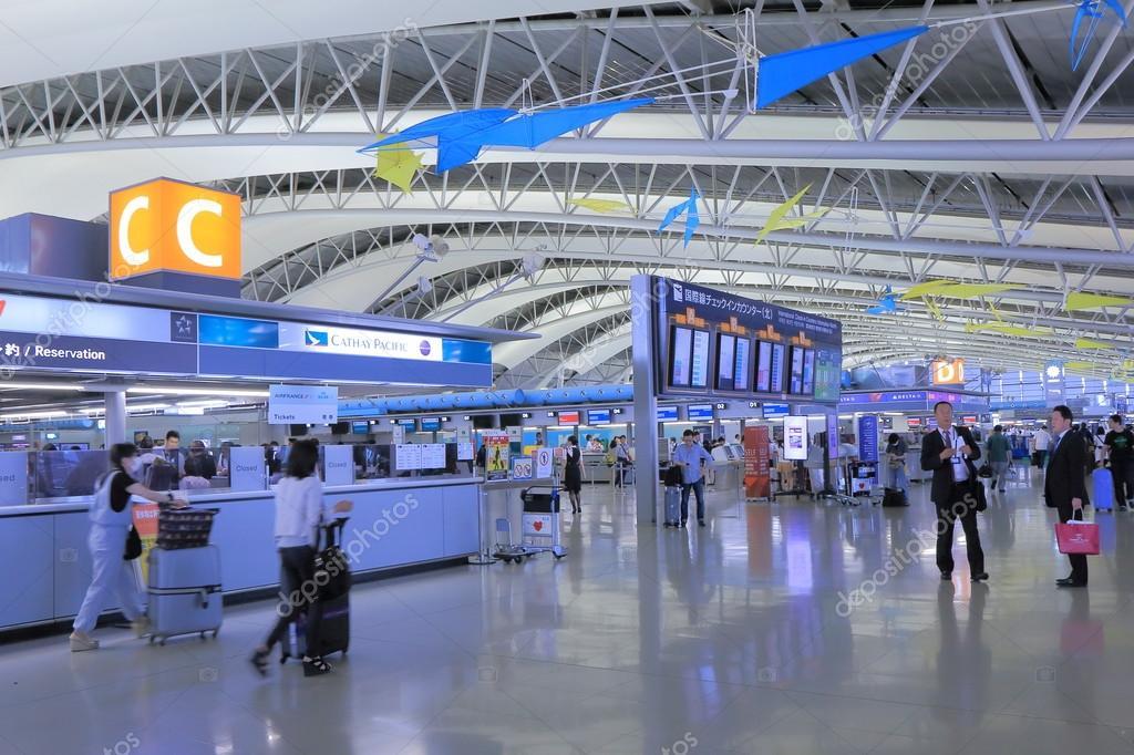 Aeroporto Kansai Osaka : Aeroporto di kansai osaka giappone — foto editoriale stock