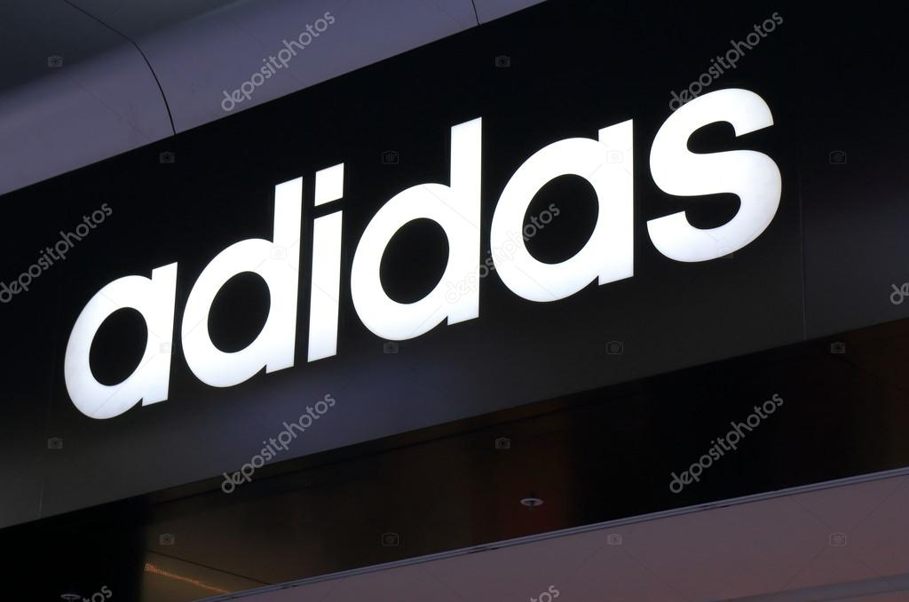 buy popular 5dc0f e262f MELBOURNE AUSTRALIA - March 1,2014  Logo of Adidas - Adidas is a German  multinational corporation that designs and manufactures sports clothing and  ...