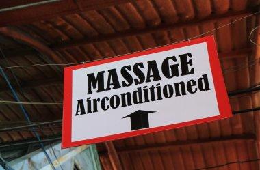 Thai massage air condition