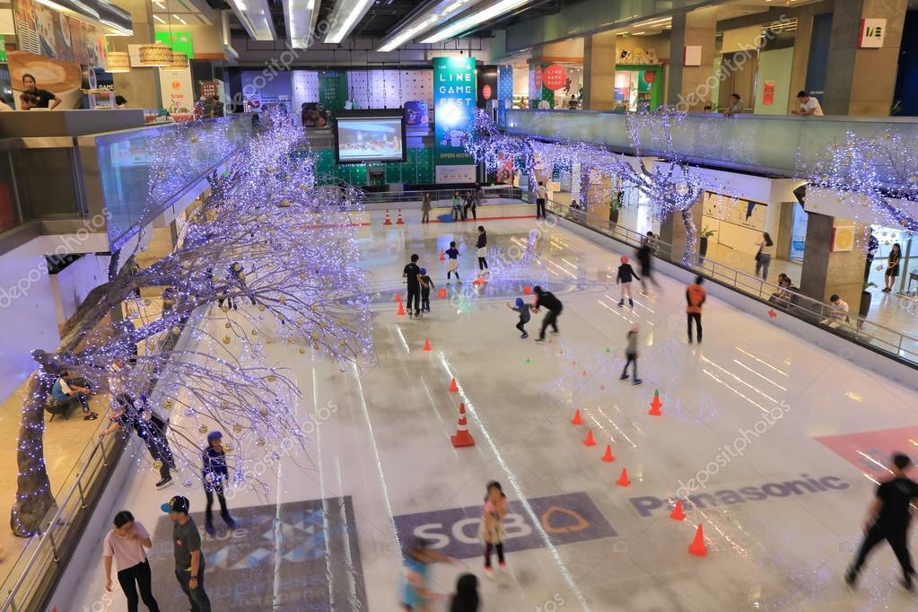 Ice skate rink Bangkok – Stock Editorial Photo © TKKurikawa #77897322