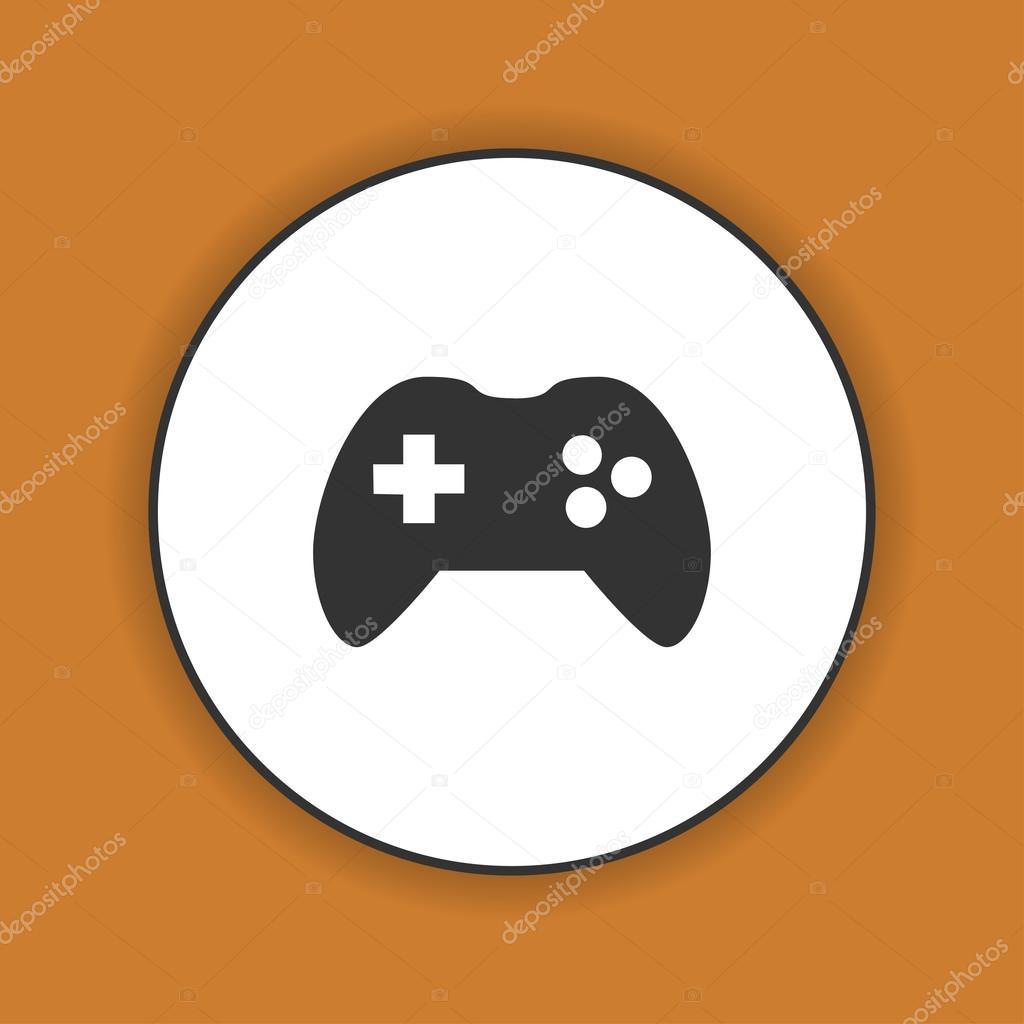 Game Controller Symbol Stockvektor Stalkerstudent 103360068