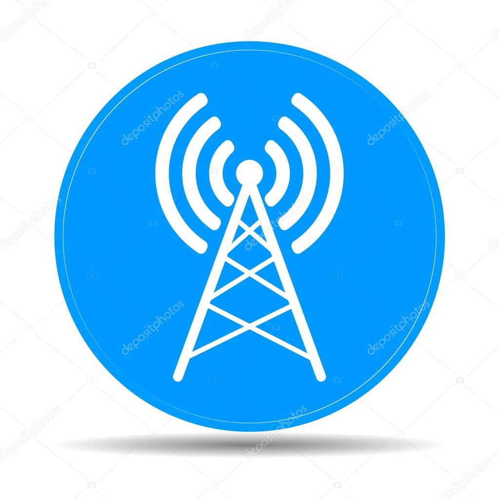 Antennensymbol — Stockvektor © stalkerstudent #73611293