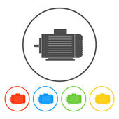 Electric motor icon