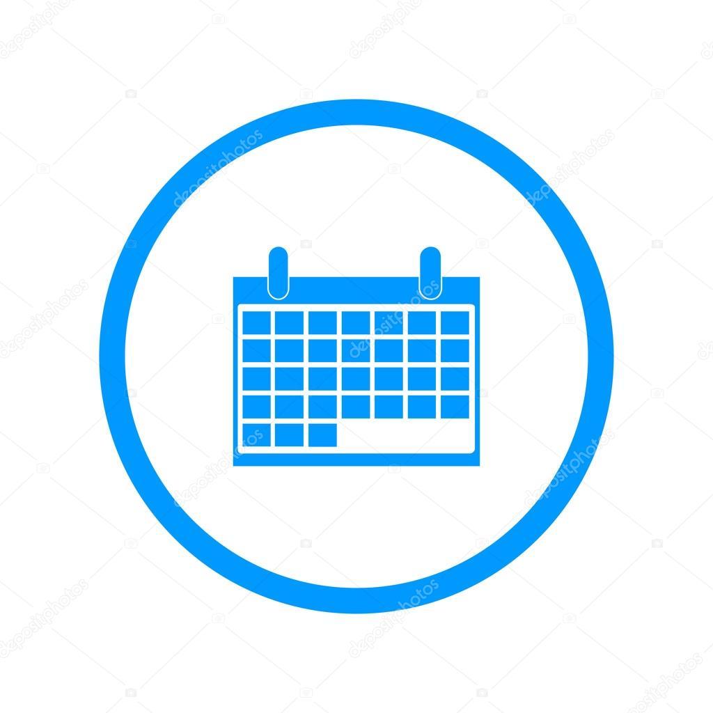 Calendario Icona.Calendario Icona Di Vettore Vettoriali Stock
