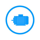 elektromos motor ikon