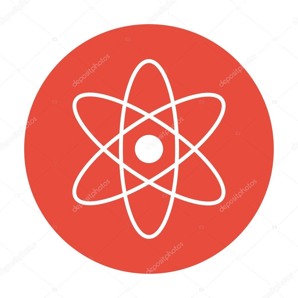 ícone de modelo de ciência física abstrata, ilustração vetorialÍcone de modelo de ciência física abstrata, ilustração vetorial \u2014 vetor de stock