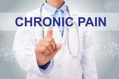 medico con il segno di dolore cronico