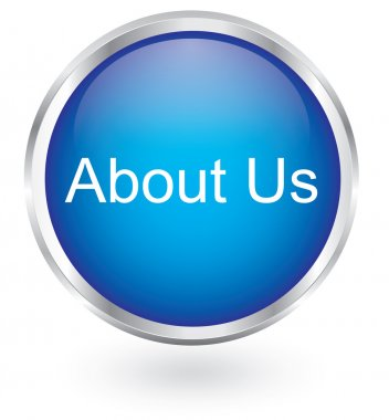 About us icon glossy button