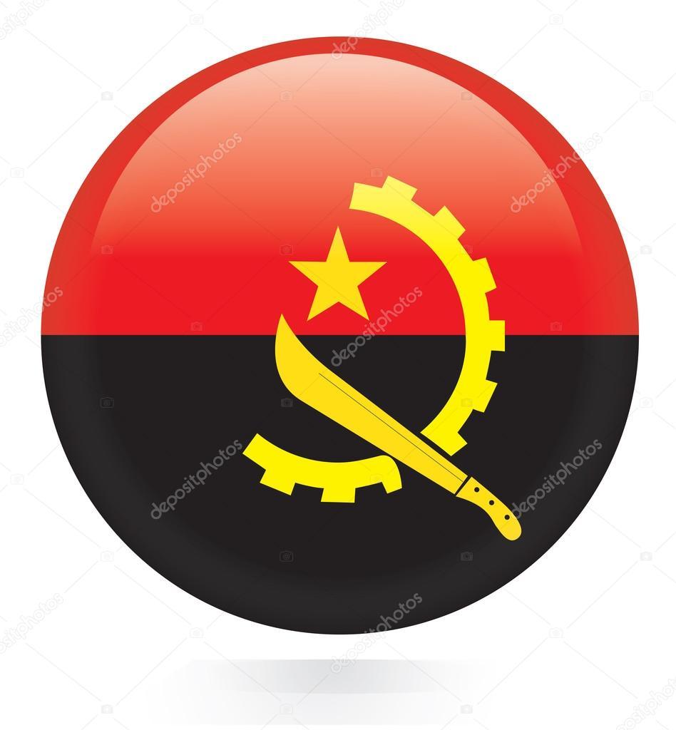 Priangola Flag Button Nt Stock Vector Photousvp77 66635025