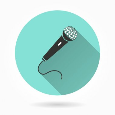 Microphone  vector icons.