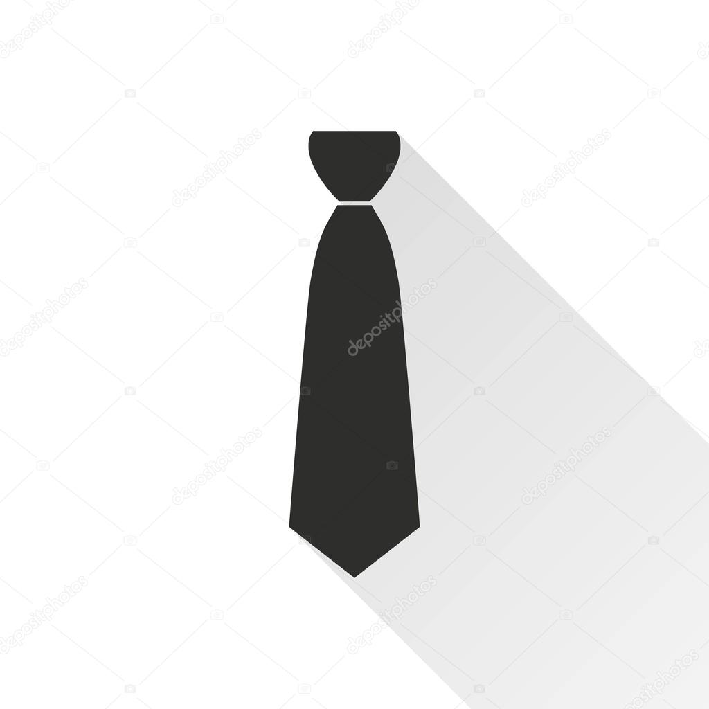 Necktie Vector Icon Stock Vector C Lovemask 112894542