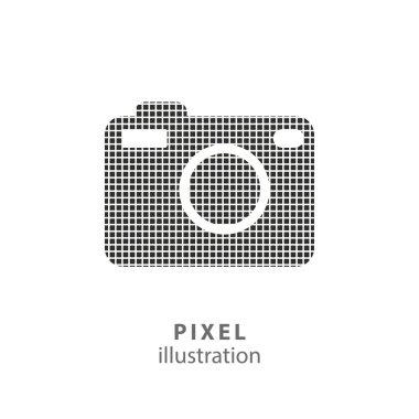 Photo - pixel illustration.