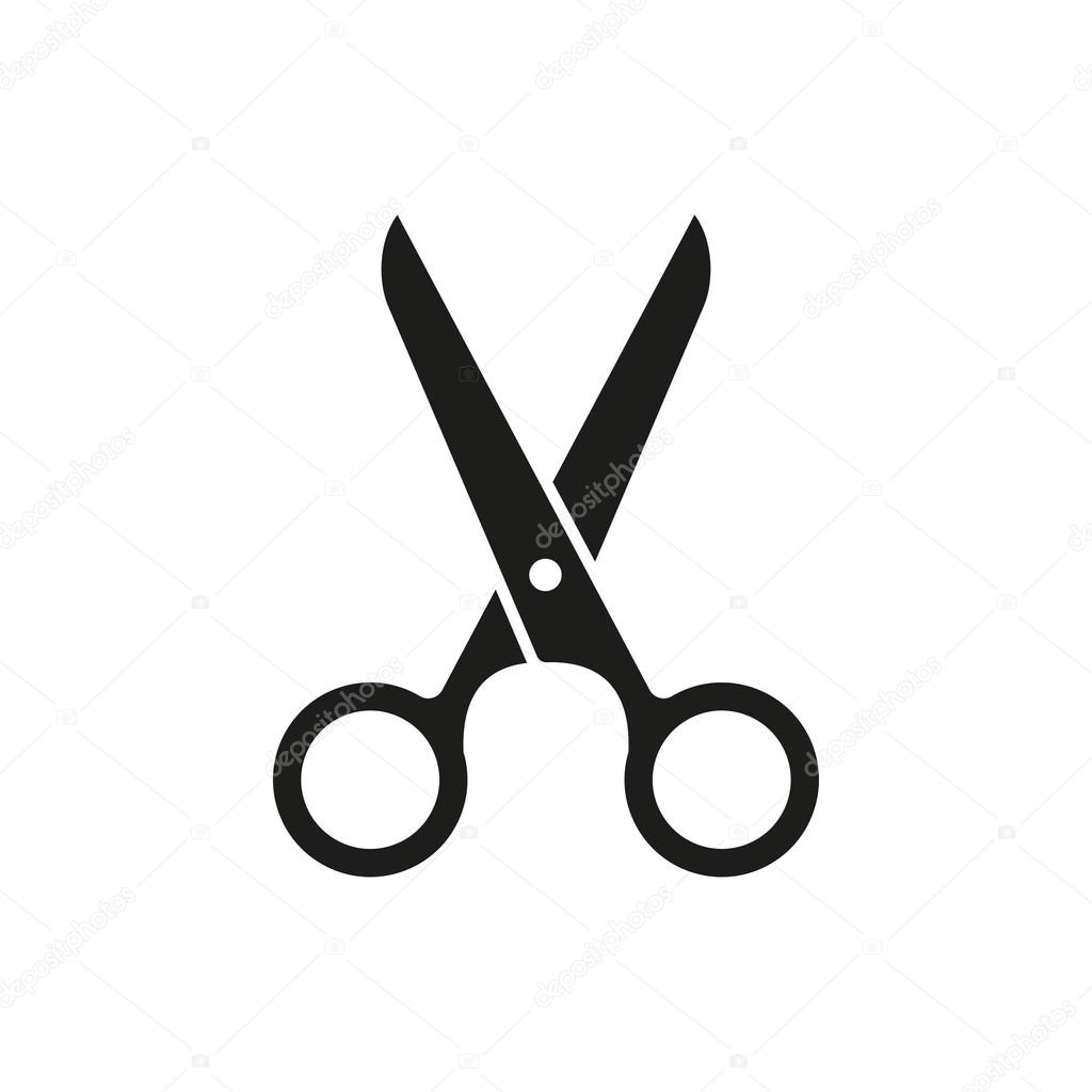 scissors vector icon stock vector lovemask 115502096 rh depositphotos com scissors vector free scissors vector art
