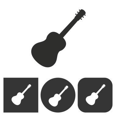Guitar - vector icon.