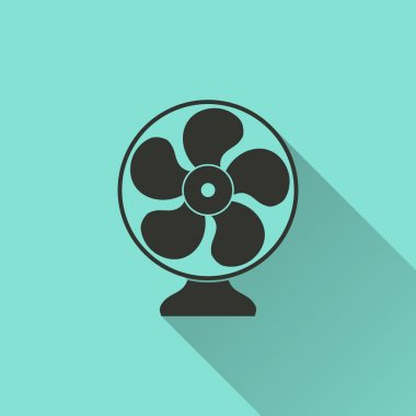 Electric fan icon