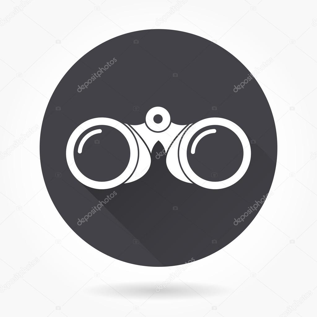 Binocular  icon.