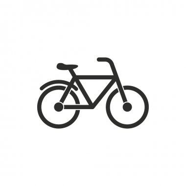 Bicycle - vector icon.